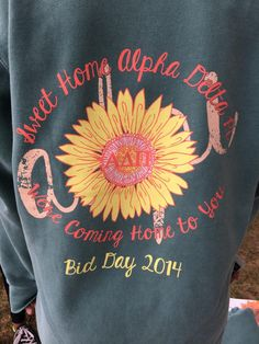 Sweet Home ADPi | Bid Day t-shirt.