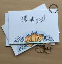 So Suzy Stamps: Thank you Postcards