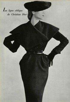 Christian Dior Ligne Oblique dress