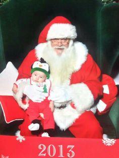 1st Santa visit