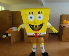 Bob l'éponge déguisement mascotte adulte neuf
