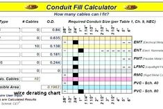Wire Derating Chart Nec Conduit Fill Table Of Wire Derating Chart Chart Nec Online Chart