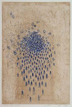 takahikohayashi:D-23.Nov.201442x28cm pen drawing on Gampi Paper 林孝彦 HAYASHI Takahiko