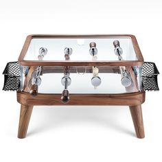 johnny cash coffee table | discover the world of handmade foosball tables by teckell