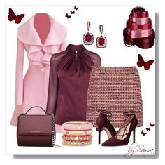 """""""Elegance with Style"""" by samra-dzabija ❤ liked on Polyvore featuring dVb Victoria Beckham, Massimo Matteo, Adolfo Courrier and Givenchy"""