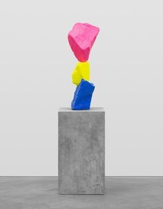 Ugo Rondinone, 'Blue yellow pink mountain,' 2015, Swiss Institute Benefit Auction 2015