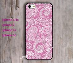 Pink flowers iPhone 5 Case Bright iPhone 5 5s by charmcover, $7.99