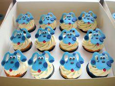 Cupcakes - Puppy Dogs (Blues Clues) 05 by Sugar Siren (Francesca), via Flickr