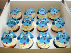 I can still do cup cakes!! Kyle squealed when he saw these!