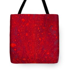Fiery Tote Bag featuring the photograph Fiery Eruption by Nareeta Martin