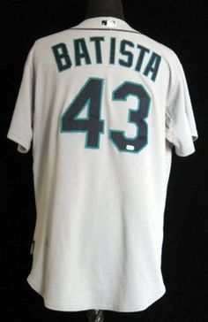 2009 Seattle Mariners Miguel Batista #43 Game Used Grey Road Jersey - Game Used MLB Jerseys by Sports Memorabilia. $106.45. 2009 Seattle Mariners Miguel Batista #43 Game Used Grey Road Jersey