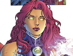 Starfire Comics, Teen Titans Starfire, Starfire And Raven, Nightwing And Starfire, Teen Titans Go, Marvel Vs, Marvel Dc Comics, Bikini Violet, Lgbt