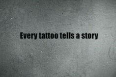 My tattoos tell many and my journey's in life
