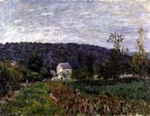 Autumn Evening on the Outskirts of Paris, 1879 - Alfred Sisley - www.alfredsisley.org