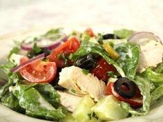 Classic Mediterranean Chicken Salad