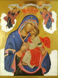 Issam Mansour Iconographer Religious Images, Religious Icons, Religious Art, Byzantine Icons, Byzantine Art, Virgin Mary, Biblical Art, Madonna And Child, Orthodox Icons