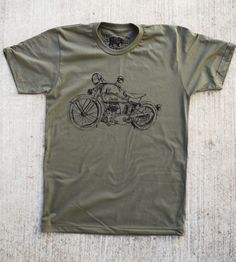 Men's 1929 Motorcycle T-Shirt | Men's Clothing | Paulville | Scoutmob Shoppe | Product Detail