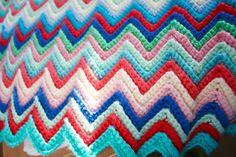 Skinny Ripple #Crochet Tutorial from Little Woolie