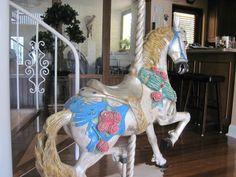 Carousel Horse Large Beautiful   eBay