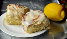 Recipe:  Sticky Lemon Rolls with Lemon Cream Cheese Glaze    Brunch Recipes from The Kitchn