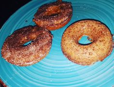 Low carb cinnamon/sugar doughnuts #lchf #lowcarb #keto #ketolifestyle by thebeautifulstruggle72