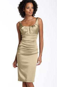 @Christie LeBouef  Suzi Chin for Maggy Boutique Stretch Satin Sheath Dress | Nordstrom