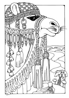 Three Wise Men Christmas Coloring Pages 11