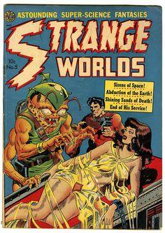 Strange Worlds Comic (1950s)