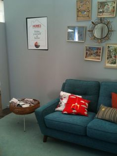 G Plan Vintage set up. Magazine Display, Wilderness, Sofas, Love Seat, Upholstery, Comfy, How To Plan, Chair, House