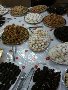 Cyprus Gastronomy. Christmas sweets.