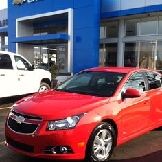 2012 Chevy Cruze RS -- i seriously have a thing for red !