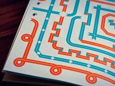 Ribbon typeface book... elegant electric. Electrigant.