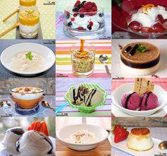 Doce recetas de postres con yogur