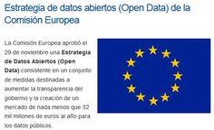 ESTRATEGIA DE DATOS ABIERTOS (OPEN DATA) DE LA COMISIÓN EUROPEA