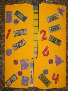 What a great way for K5 & 1st graders to learn math in a concise way!  Math Lapbook Cover by prayingmother, via Flickr