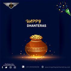 𝗛𝗮𝗽𝗽𝘆 𝗗𝗵𝗮𝗻𝘁𝗲𝗿𝗮𝘀!! May this Dhanteras shower you with wealth and prosperity as you journey towards greater success. . . . . #dhanteras #HappyDhanteras #dhanteras2020 #festiveseason #festival #diwali2020 #diwalicelebration #dhanteraswishes #kingofdigitalmarketing #digitalmarketingcompanyindelhi #digitalmarketingcompanyindelhi #SEOCompanyinIndia #dhanterasspecial #dhanteraspuja #laxmipujan #celebrations #indianfestival #special #dhanterasgift #dhanterascelebration #dhanterasnight Dhanteras Images, Happy Dhanteras Wishes, Wishes Messages, Wishes Images, Shubh Dhanteras, Message For Mother, Diwali Celebration