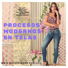 Las chicas que saben de #moda usan #WASSERjeans 💗👖 🌺 Si deseas conocer nuestro #catálogo y no quedarte sin tu #diseño, déjanos tu correo o escríbenos línea/whatsapp +57 312 4765220 para más información. Estamos en twitter como @Jeans Wasser www.WASSERJEANS.com.co  #AjustePERFECTO 100% #ProductoCOLOMBIANO #fashion #girl #flores #flowers #jean #denim # lady #latina #skinny #love #stylish #sensual