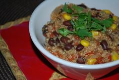 Black Bean & Corn Quinoa