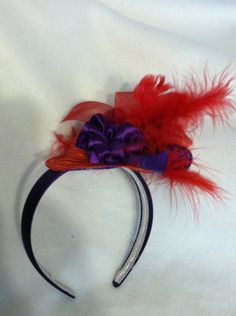 """Red Hatters"" Headband"