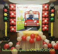 Mercedes Benz Logo In Balloons Decoration Balloons Decor Pune
