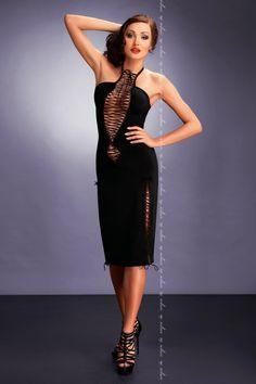 schwarzes Kleid von MeSeduce