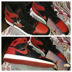 Air Jordan 1's....One of my favorite numbers!