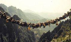 Love locks - Yellow Mountain China