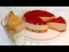 """Κέικ """"Dalgona"""" σε λίγα λεπτά χωρίς ψήσιμο! # 331 - YouTube Candy Cookies, No Bake Cookies, Biscuit Bar, Fika, Tiramisu, Parfait, Fudge, Food Videos, Pastel"""