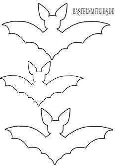 Fledermäuse. Gut für Halloween Deko