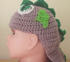 dragon baby hat, inspired by the dragon spike from my little pony, baby photo prop, baby gift, drgon hat for a geeky baby by knightwhosaidknit on Etsy
