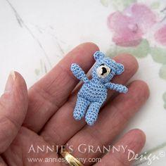 Crochet bears by Annie's Granny Design - free pattern