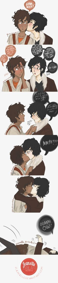 nico di angelo and percy viria - Buscar con Google