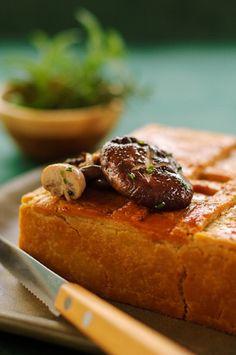 Torta de cogumelos - Basilico