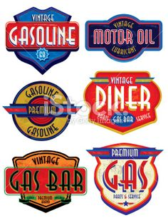 auto repair shop illustration retro - Google Search